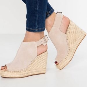 Kenneth Cole odette espadrille wedges open toe